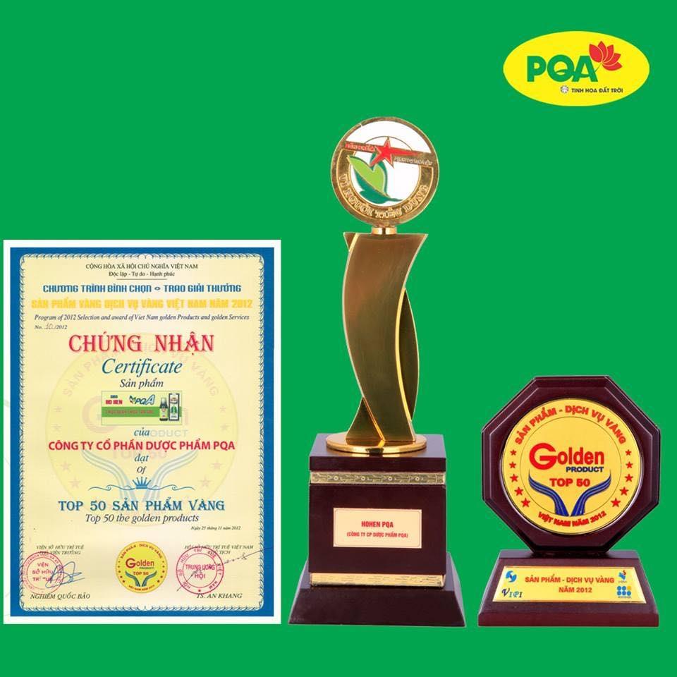 Dược phẩm PQA vinh dự đạt nhiều giải thưởng cao quý